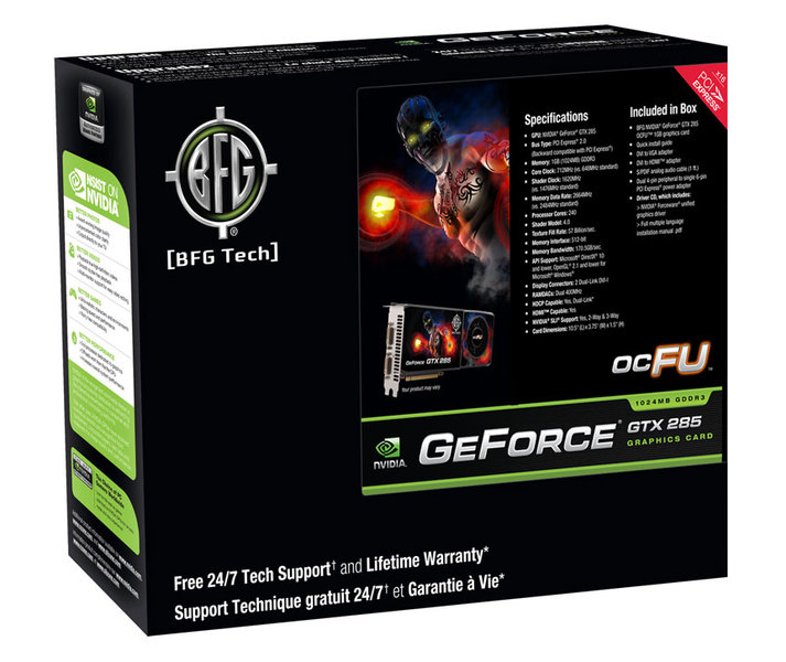 Media asset in full size related to 3dfxzone.it news item entitled as follows: BFG lancia due card GeForce GTX 295 e GTX 285 overclocked   Image Name: news10933_4.jpg