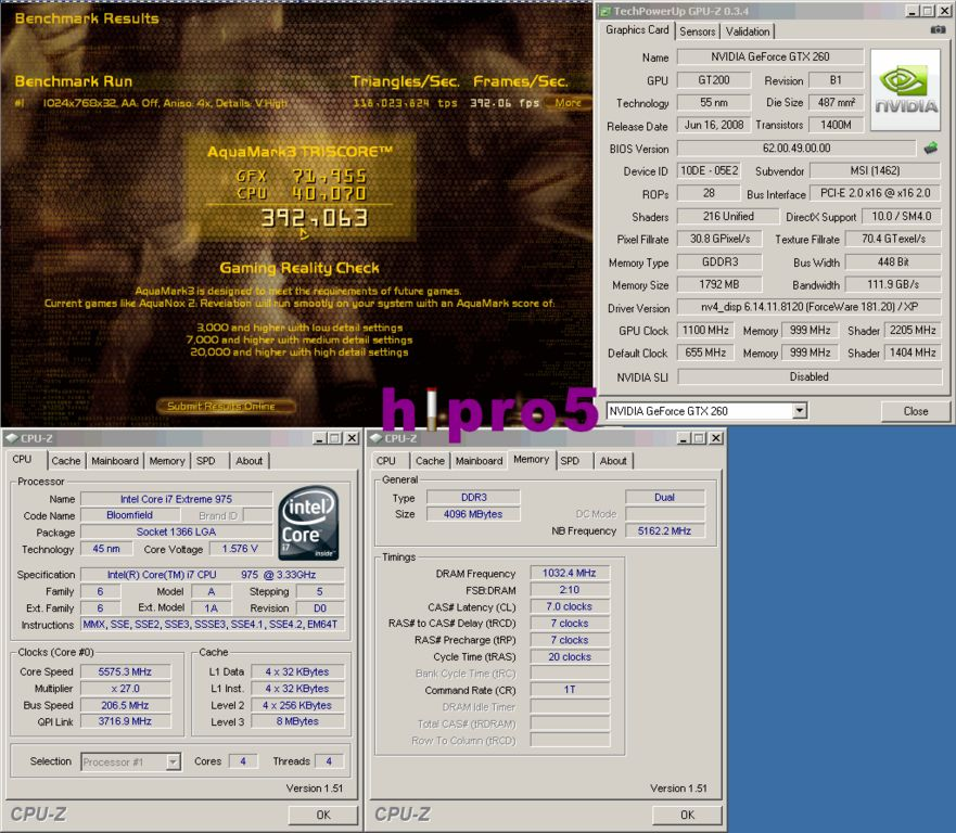 Media asset in full size related to 3dfxzone.it news item entitled as follows: Overclock: la N260GTX Lightning di MSI con la gpu a 1.1GHz   Image Name: news11001_2.jpg