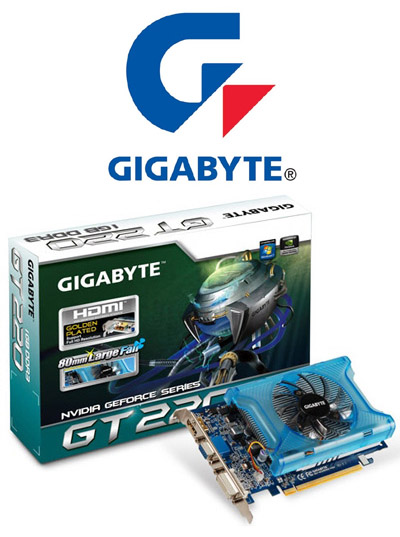 Media asset in full size related to 3dfxzone.it news item entitled as follows: Gigabyte, in arrivo la card GeForce GT 220 OC con gpu a 40nm   Image Name: news11516_1.jpg