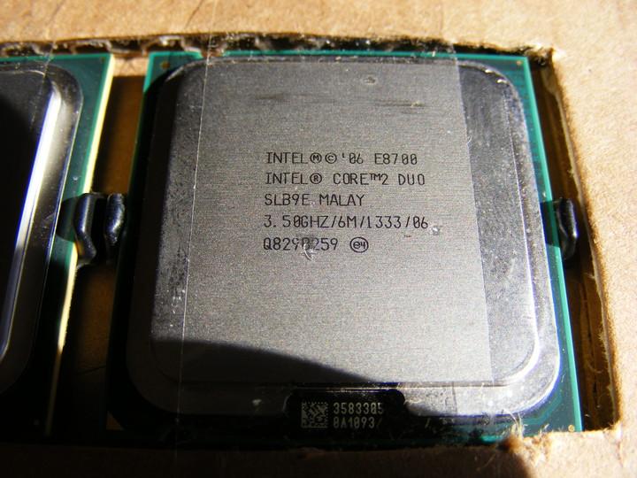 Media asset in full size related to 3dfxzone.it news item entitled as follows: Foto e specifiche ufficiose della cpu Core 2 Duo E8700 di Intel | Image Name: news11954_1.jpg