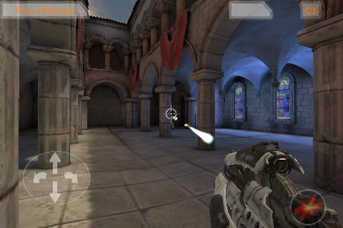 Media asset in full size related to 3dfxzone.it news item entitled as follows: Epic mostra Unreal Tournament 3 in esecuzione su iPod Touch | Image Name: news12136_2.png