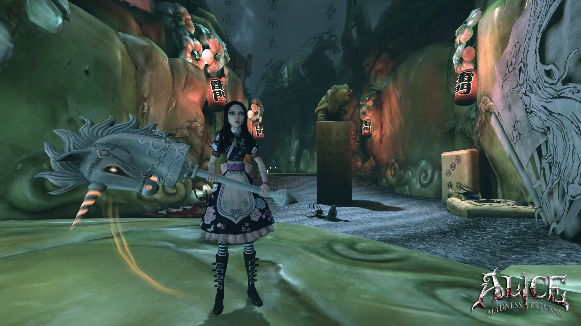 Media asset in full size related to 3dfxzone.it news item entitled as follows: Da Electronic Arts nuovi screenshots di Alice: Madness Returns | Image Name: news14971_2.jpg