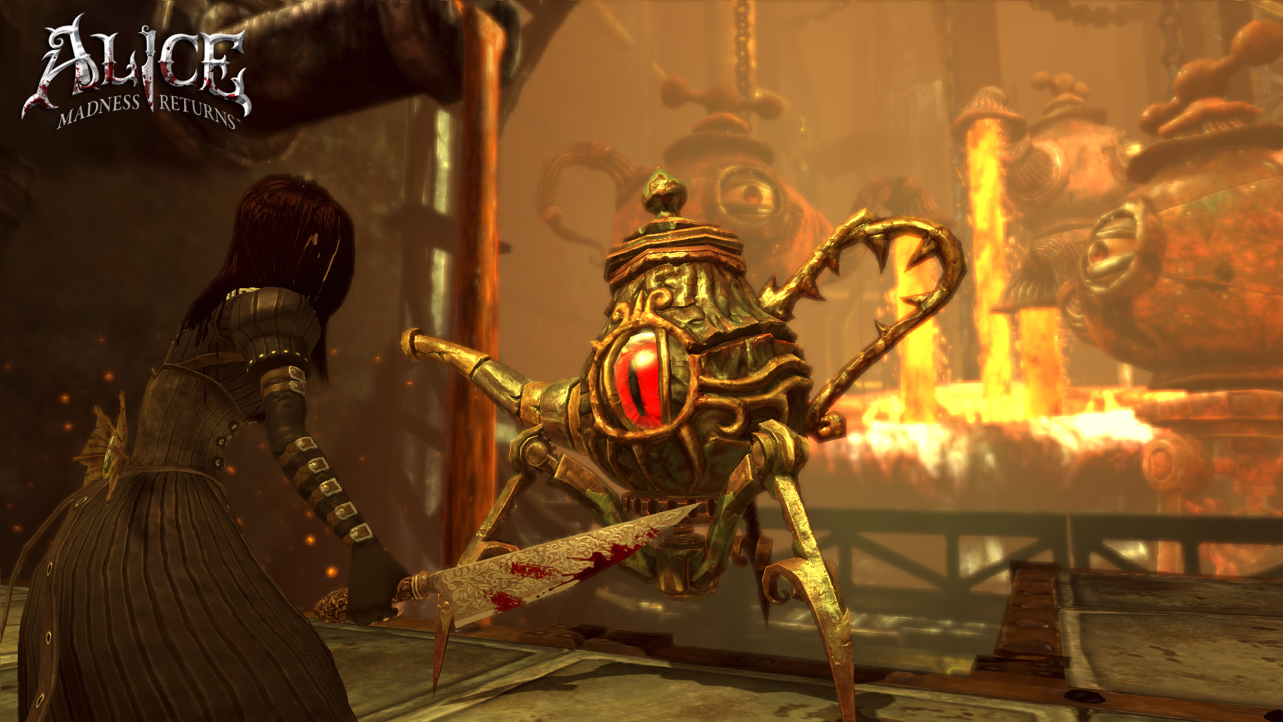 Media asset in full size related to 3dfxzone.it news item entitled as follows: Da Electronic Arts nuovi screenshots di Alice: Madness Returns   Image Name: news14971_4.jpg