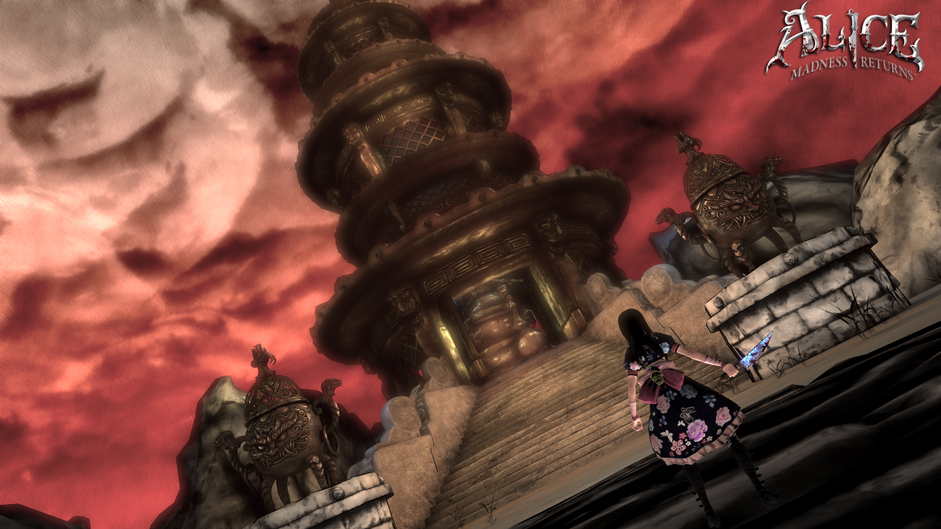 Media asset in full size related to 3dfxzone.it news item entitled as follows: Da Electronic Arts nuovi screenshots di Alice: Madness Returns   Image Name: news14971_5.jpg
