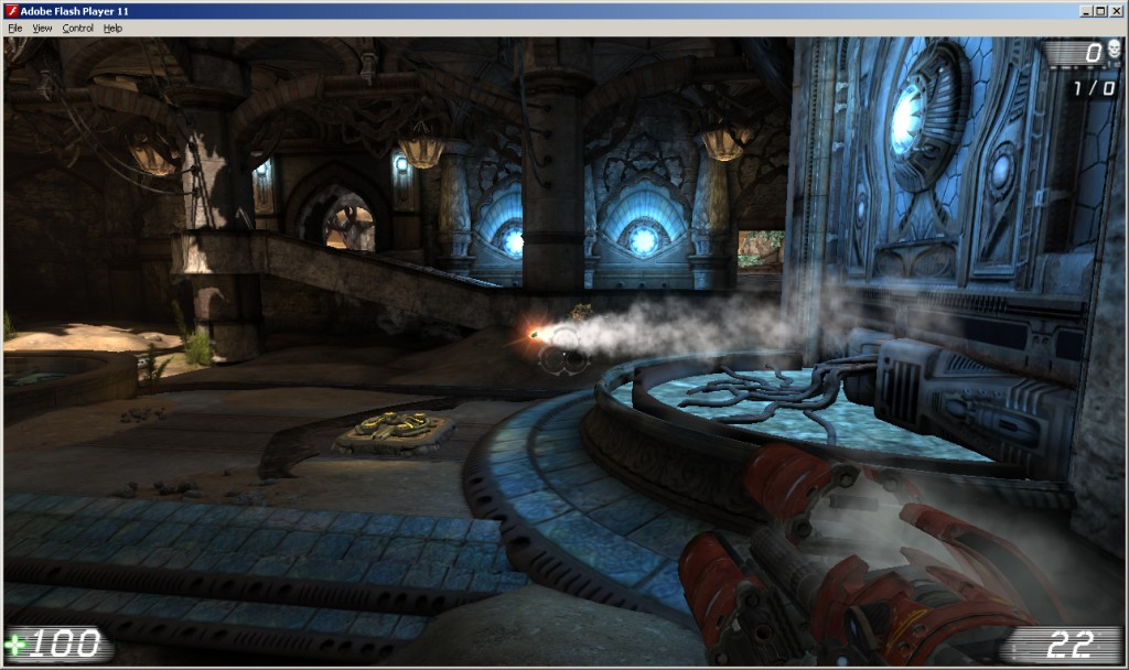 Media asset in full size related to 3dfxzone.it news item entitled as follows: Epic mostra Unreal Tournament 3 eseguito su Adobe Flash Player   Image Name: news15824_3.jpg