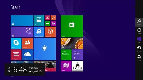 Media asset in full size related to 3dfxzone.it news item entitled as follows: Microsoft, disponibile la release RTM di Windows 8.1 e gli screenshot | Image Name: news20019_windows-81-rtm_2.jpg