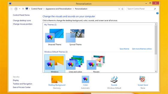 Media asset in full size related to 3dfxzone.it news item entitled as follows: Microsoft, disponibile la release RTM di Windows 8.1 e gli screenshot | Image Name: news20019_windows-81-rtm_4.jpg