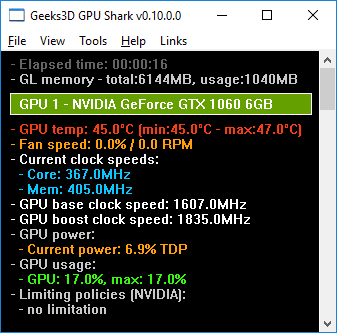 Media asset (photo, screenshot, or image in full size) related to contents posted at 3dfxzone.it   Image Name: news226759_GPU-Shark-Screenshot_1.png