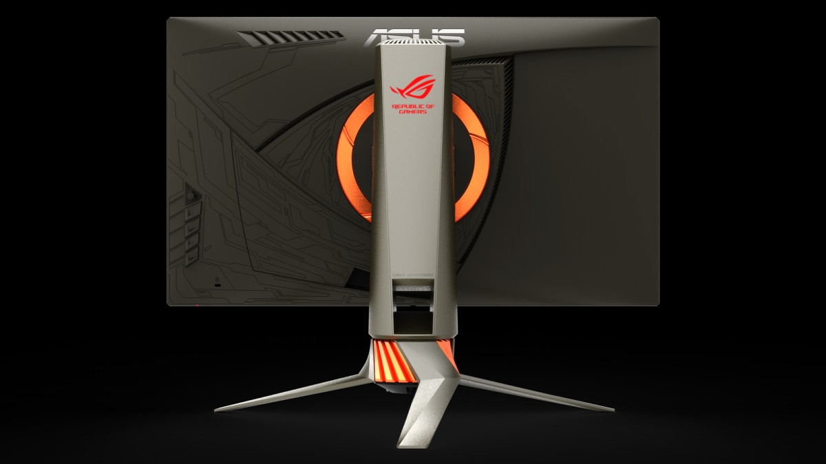 Media asset in full size related to 3dfxzone.it news item entitled as follows: Da ASUS una preview del monitor ROG SWIFT PG258Q con refresh rate di 240Hz   Image Name: news25030_ASUS-ROG-PG258Q_2.jpg