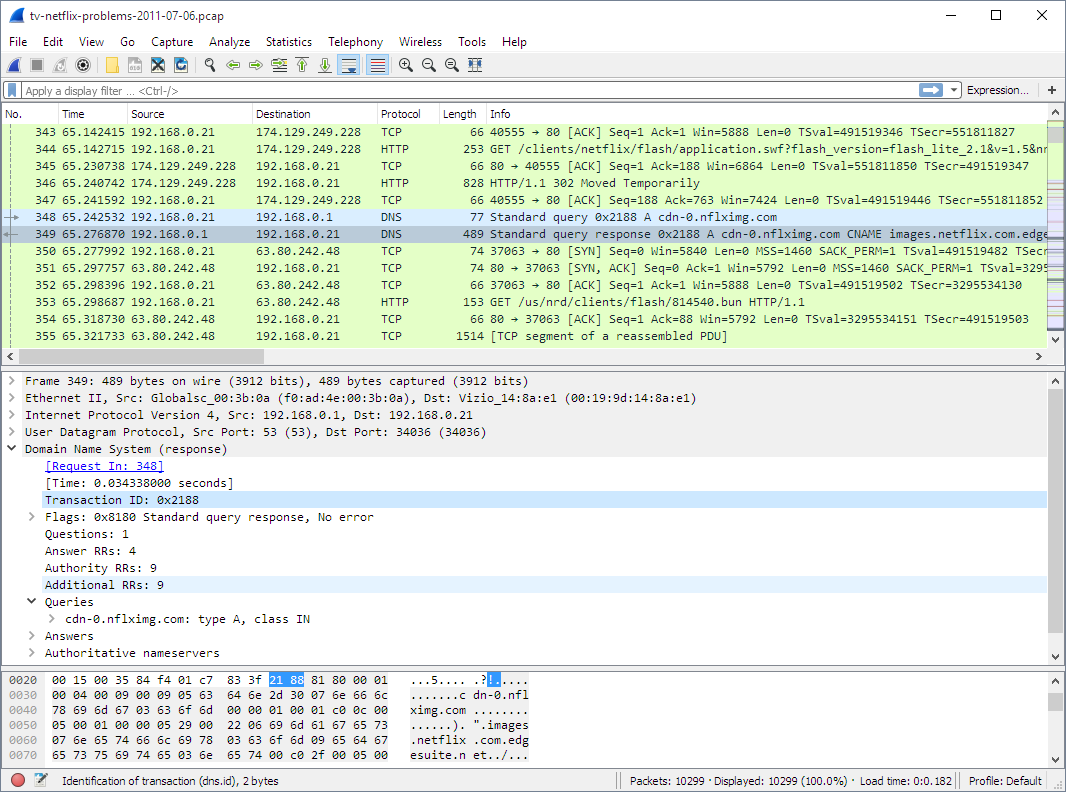 Media asset in full size related to 3dfxzone.it news item entitled as follows: Network Utilities: Wireshark 2.2.1 monitora e analizza i pacchetti di dati   Image Name: news25050_Wireshark-Screenshot_1.png