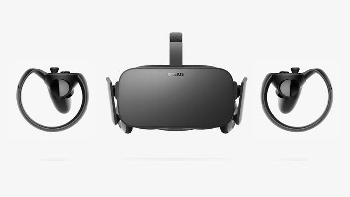 Media asset in full size related to 3dfxzone.it news item entitled as follows: Oculus riduce il prezzo di Rift e Touch e annuncia lo shooter VR Robo Recall | Image Name: news25907_Oculus-Rift-Touch_1.jpg