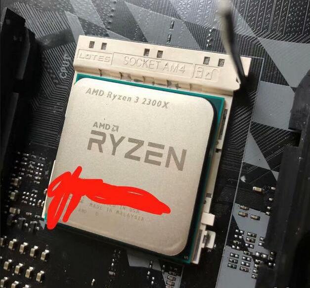 Media asset in full size related to 3dfxzone.it news item entitled as follows: Primi benchmark leaked del processore Zen+ quad-core Ryzen 3 2300X di AMD   Image Name: news28407_AMD-Ryzen-3-2300X-Benchmark_1.jpg