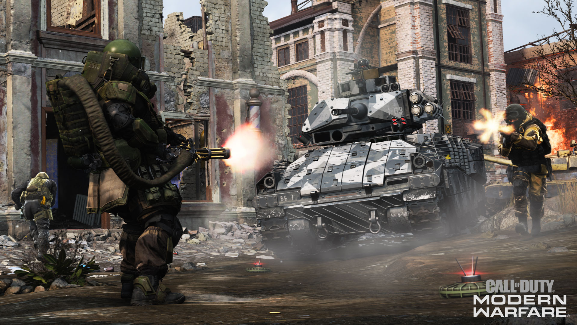 Media asset in full size related to 3dfxzone.it news item entitled as follows: AMD rilascia il driver grafico Radeon Software Adrenalin 2019 Edition 19.10.2 | Image Name: news30117_Call-of-Duty-Modern-Warfare_2.jpg