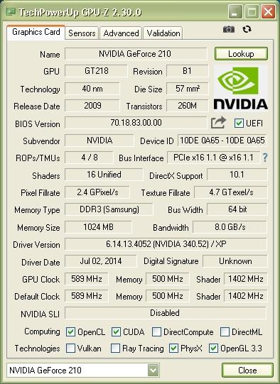 Media asset in full size related to 3dfxzone.it news item entitled as follows: GPU-Z 2.30.0 supporta AMD Radeon RX 590 GME e NVIDIA GTS 450 Rev 2   Image Name: news30536_GPU-Z-Screenshot_1.jpg