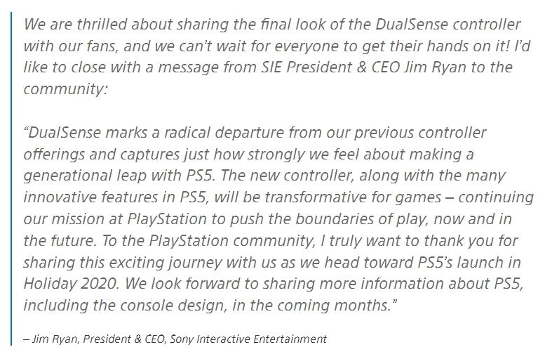 Media asset in full size related to 3dfxzone.it news item entitled as follows: Sony condivide foto e caratteristiche del controller DualSense di PlayStation 5 | Image Name: news30621_PlayStation-5-DualSense_9.jpg