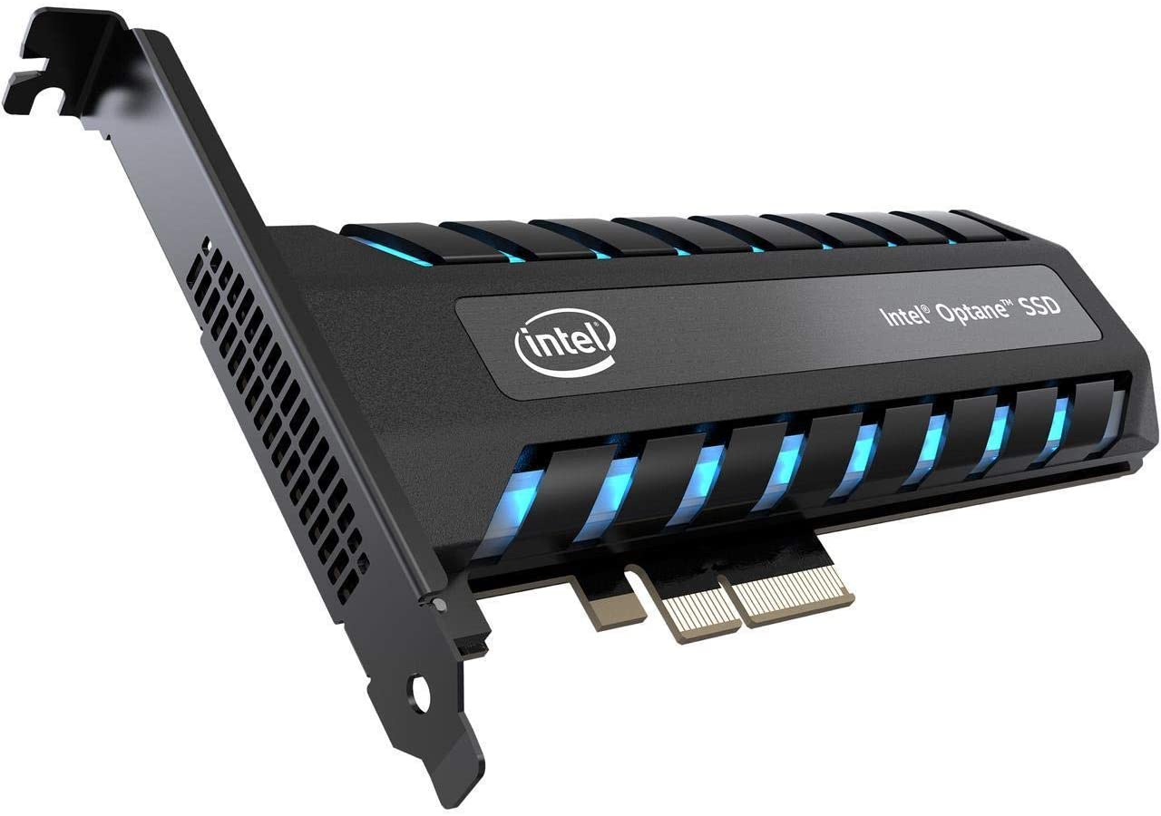 Media asset in full size related to 3dfxzone.it news item entitled as follows: Intel prepara il lancio delle memorie 3D NAND flash a 144-layer e Optane 2   Image Name: news30737_Intel-Optane-SSDPED1D960GAX1_1.jpg