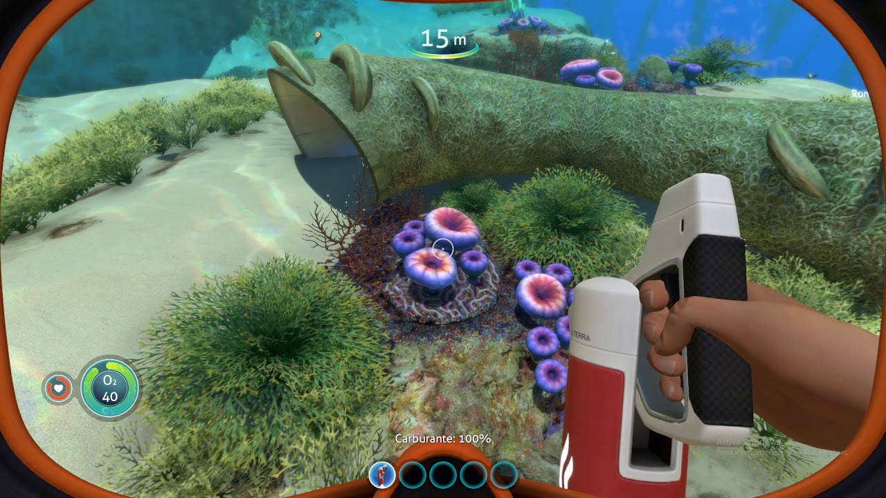 Media asset in full size related to 3dfxzone.it news item entitled as follows: YouTube Gaming Video: Subnautica | Freedom Mode | Full HD Gameplay Footage | Image Name: news30757_Subnautica-3dfxzone-channel-video_1.jpg