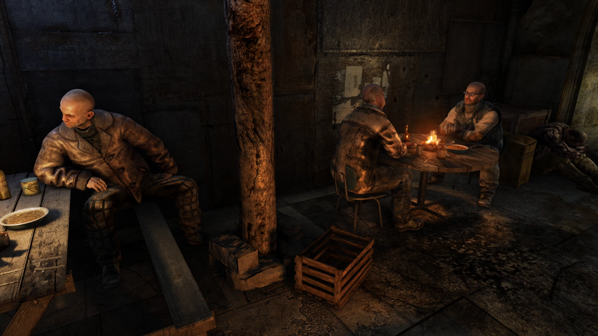 Media asset in full size related to 3dfxzone.it news item entitled as follows: YouTube Gaming Video: Metro 2033 Redux   4A Engine   Full HD Gameplay Footage   Image Name: news30792_Metro-2033-Redux-Screenshot_1.png