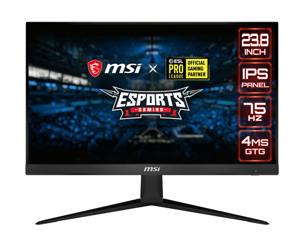 Media asset in full size related to 3dfxzone.it news item entitled as follows: MSI introduce il gaming monitor Optix G241V con pannello IPS da 23.8-inch   Image Name: news30964_MSI-Optix-G241V_1.png