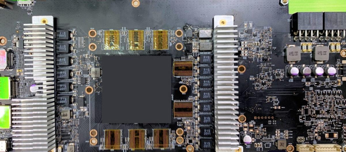 Media asset in full size related to 3dfxzone.it news item entitled as follows: Potrebbe essere già on line la foto di una video card AMD Radeon RX 6800 XT | Image Name: news31247_Sample-Engineering-Big-Navi_1.jpg