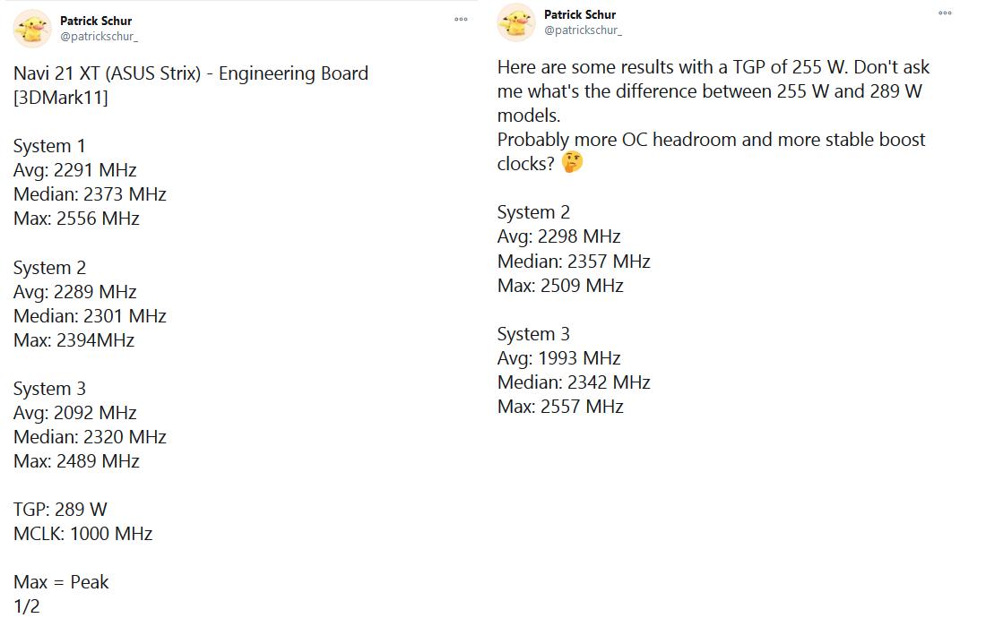 Media asset in full size related to 3dfxzone.it news item entitled as follows: La GPU della ROG STRIX Radeon RX 6800 XT supera la frequenza di 2.5GHz?   Image Name: news31260_ROG-STRIX-Radeon-RX-6800-XT_1.png