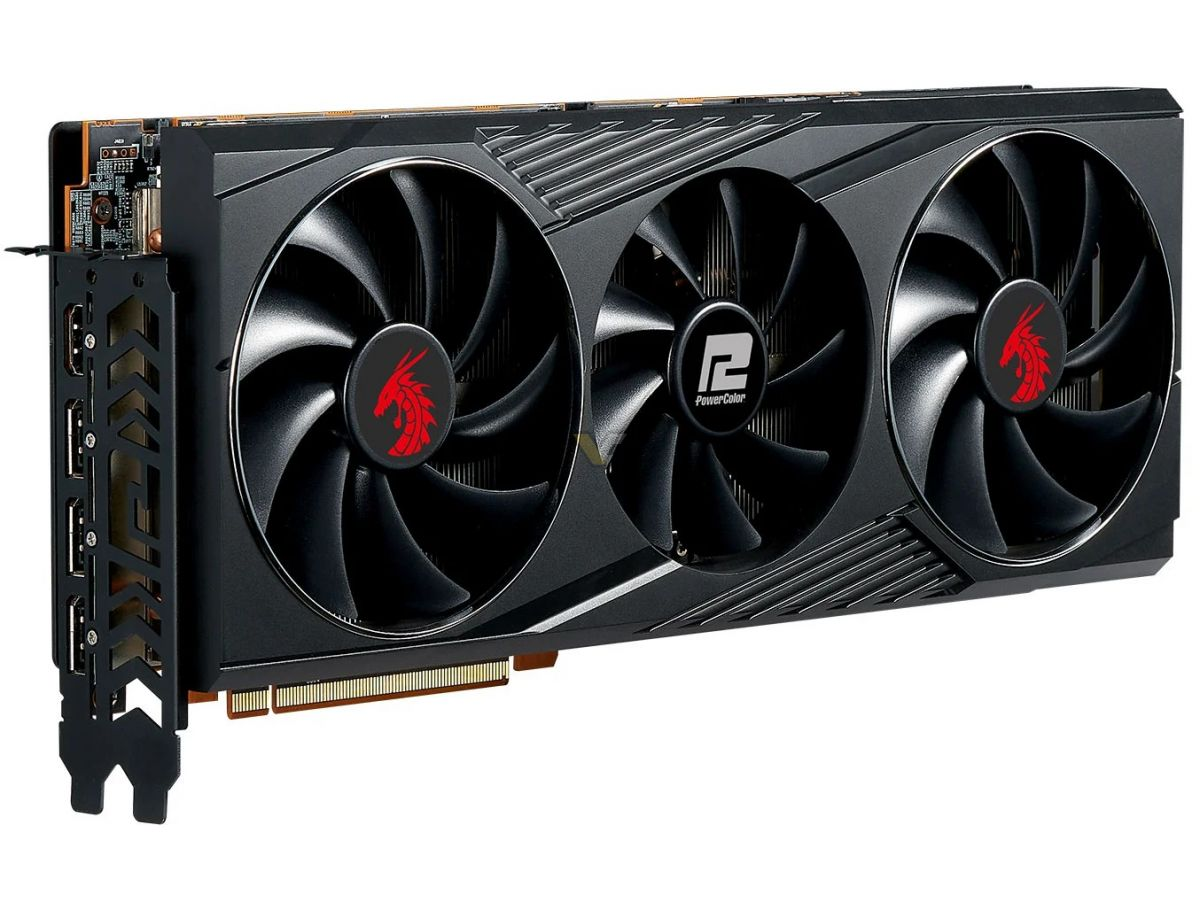 Media asset in full size related to 3dfxzone.it news item entitled as follows: Prime foto della video card PowerColor Radeon RX 6800 Red Dragon XT | Image Name: news31365_PowerColor-Radeon-RX-6800-Red-Dragon-XT_1.jpg