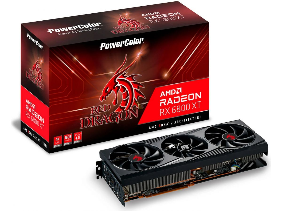 Media asset in full size related to 3dfxzone.it news item entitled as follows: Prime foto della video card PowerColor Radeon RX 6800 Red Dragon XT   Image Name: news31365_PowerColor-Radeon-RX-6800-Red-Dragon-XT_2.jpg