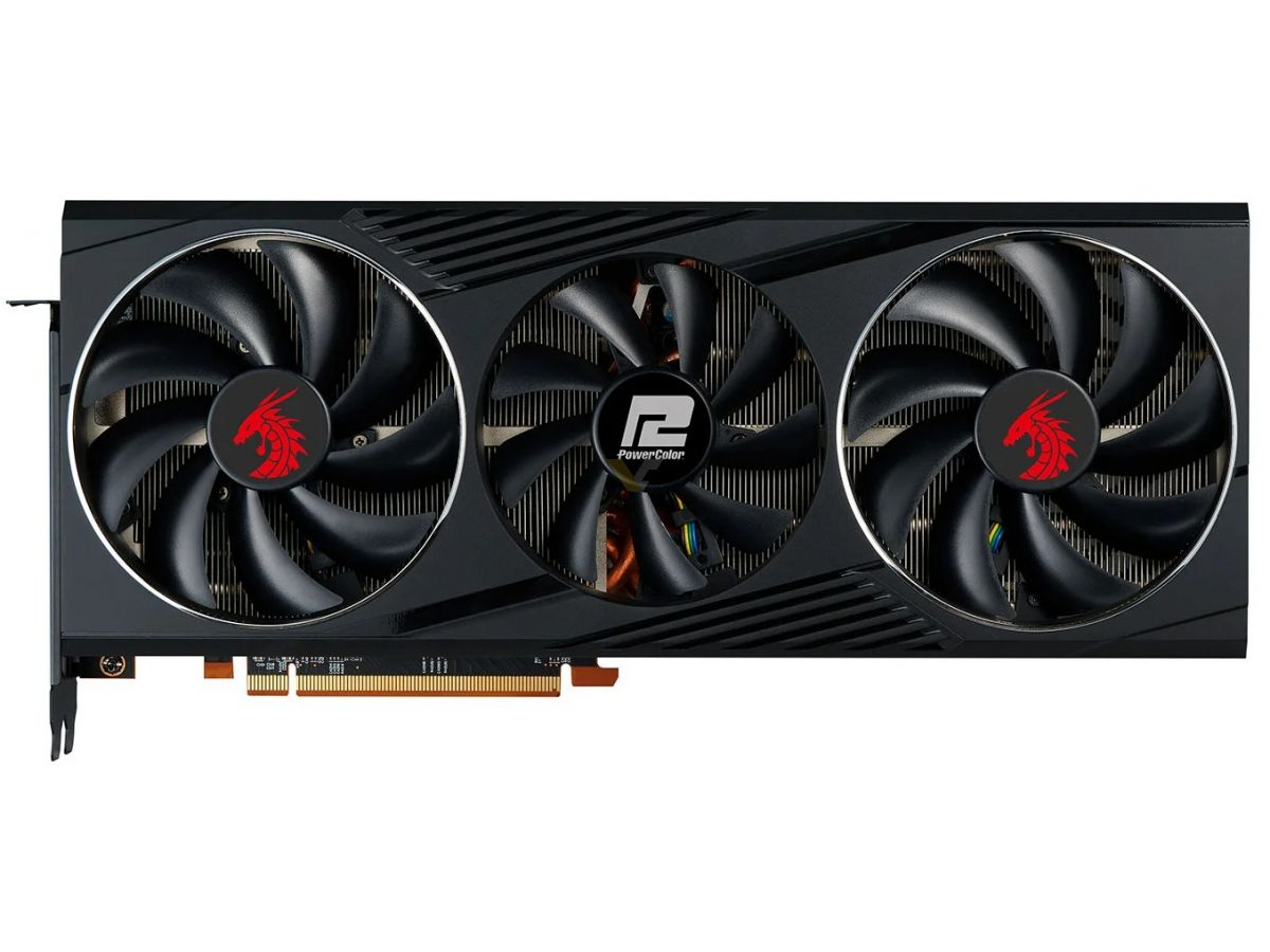 Media asset in full size related to 3dfxzone.it news item entitled as follows: Prime foto della video card PowerColor Radeon RX 6800 Red Dragon XT | Image Name: news31365_PowerColor-Radeon-RX-6800-Red-Dragon-XT_5.jpg
