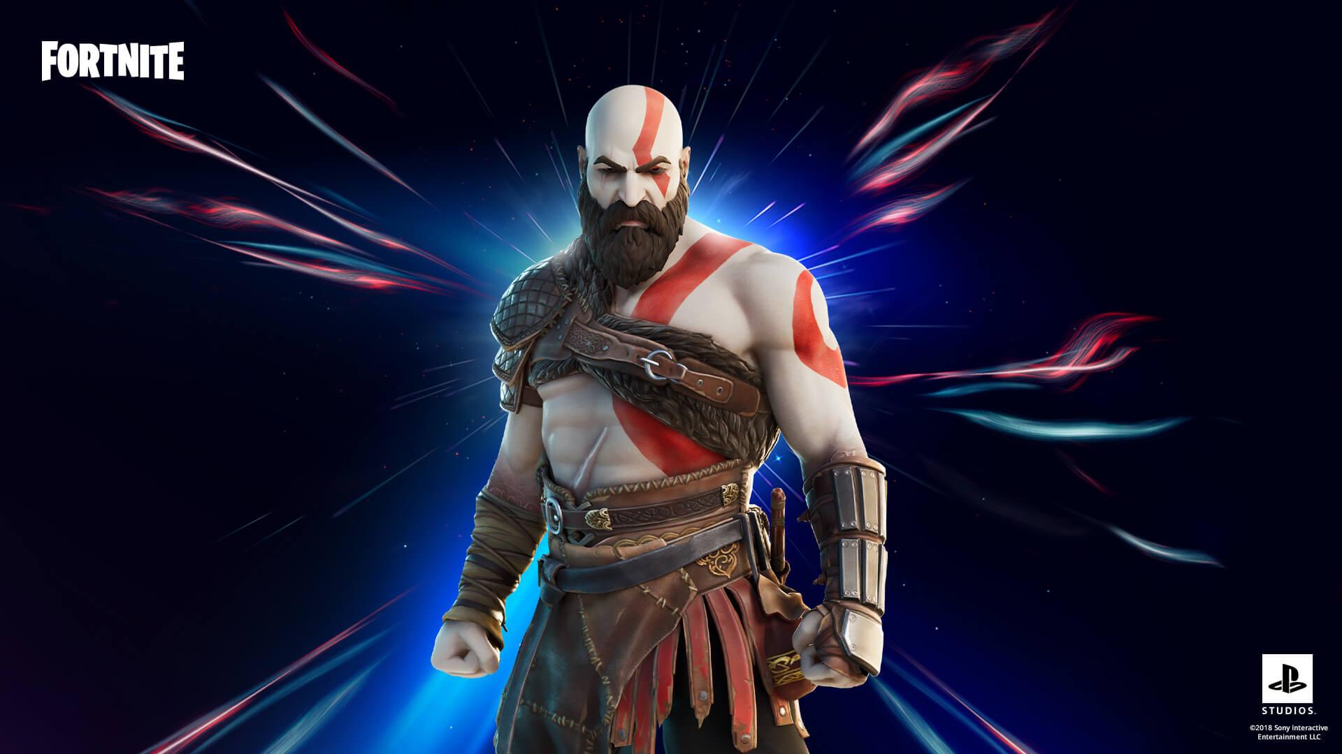 Media asset in full size related to 3dfxzone.it news item entitled as follows: Anche Kratos di God of War tra le novità del capitolo 2 stagione 5 di Fortnite  | Image Name: news31408_Fortnite-Kratos_1.jpg