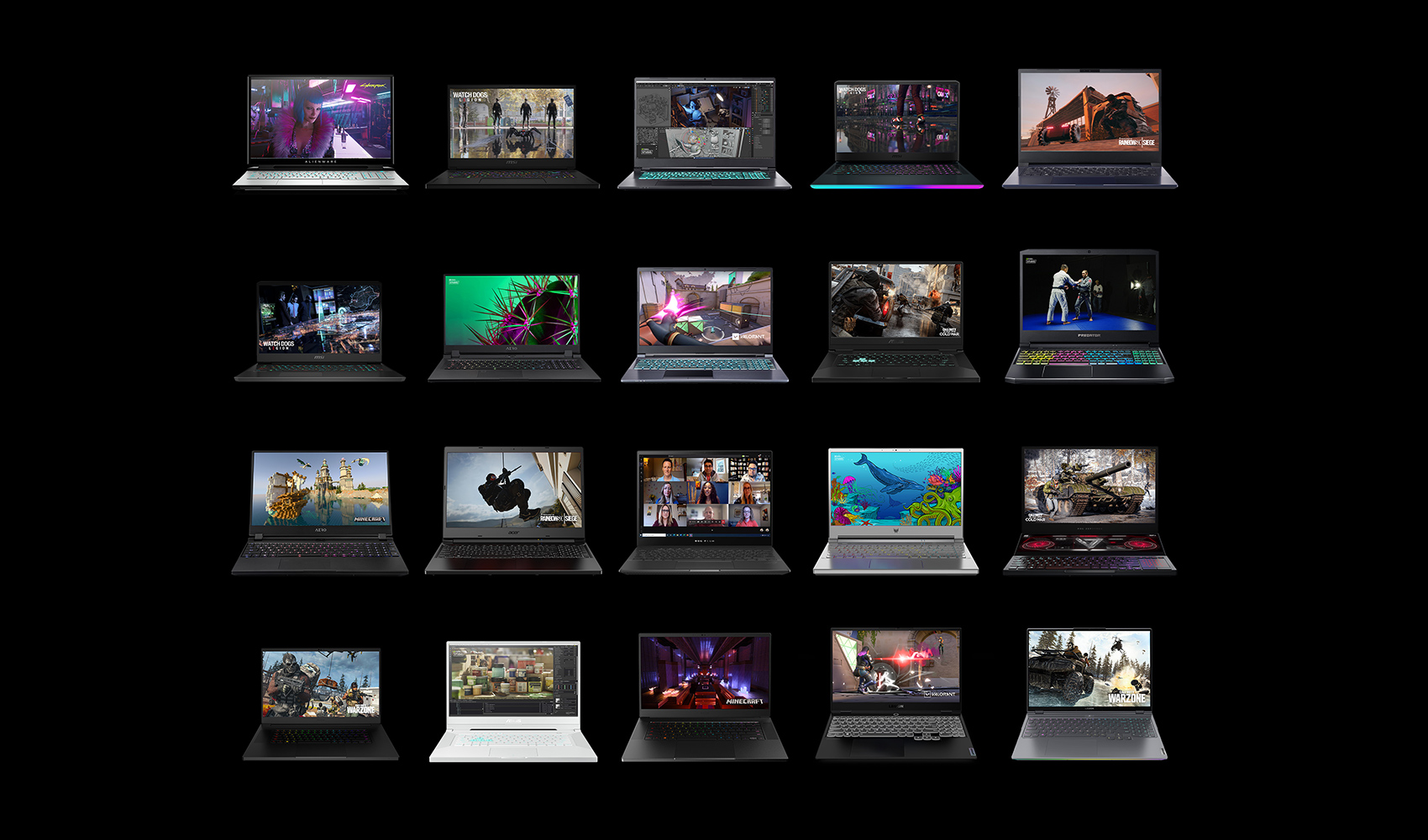 Media asset in full size related to 3dfxzone.it news item entitled as follows: NVIDIA annuncia la GeForce RTX 3060 e i notebook con GPU RTX 30 mobile | Image Name: news31546_NVIDIA-CES-2021_5.jpg