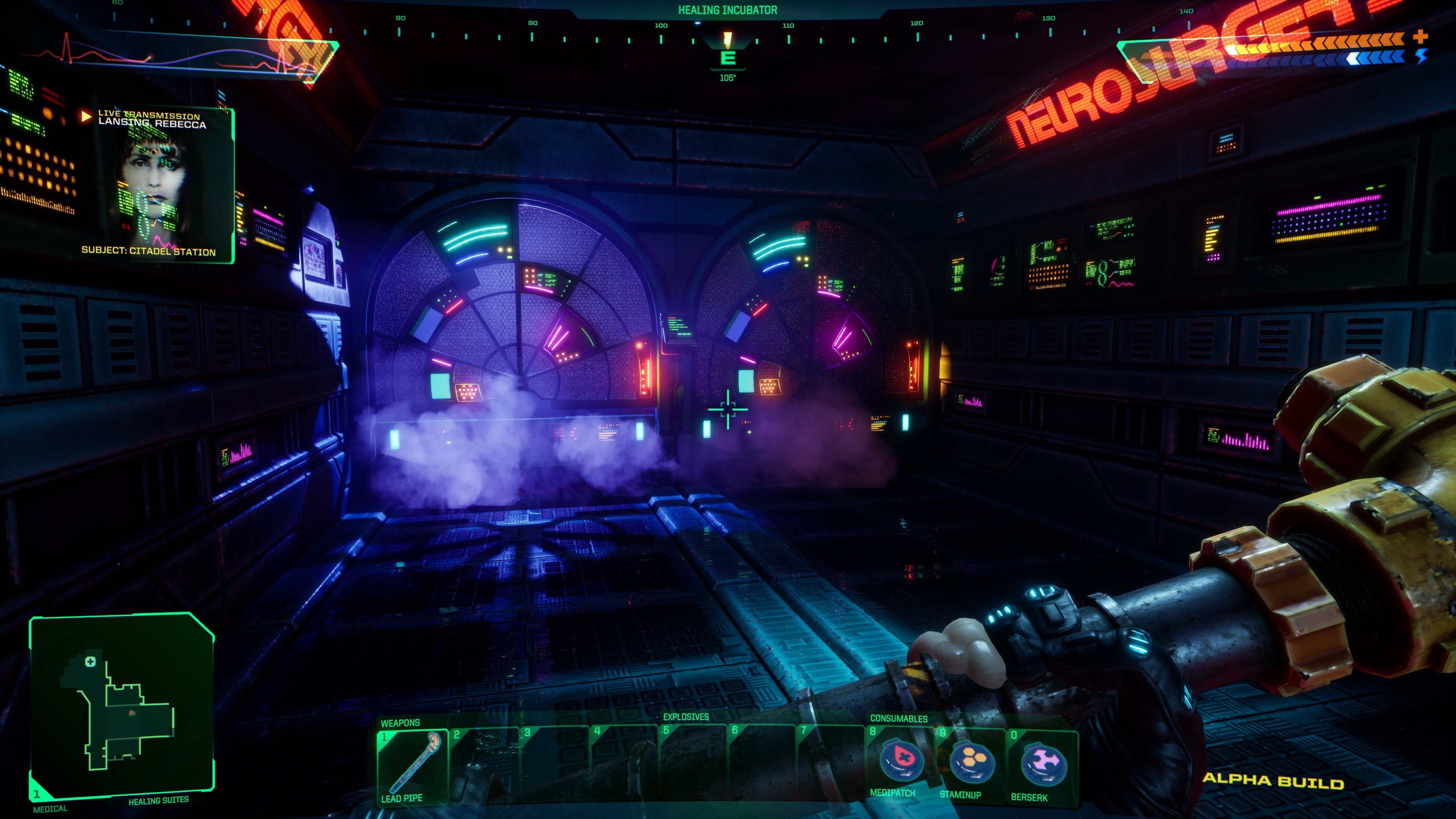 Media asset in full size related to 3dfxzone.it news item entitled as follows: Teaser trailer, demo per PC e screenshots del remake di System Shock | Image Name: news31742_System-Shock-Screenshot_1.jpg