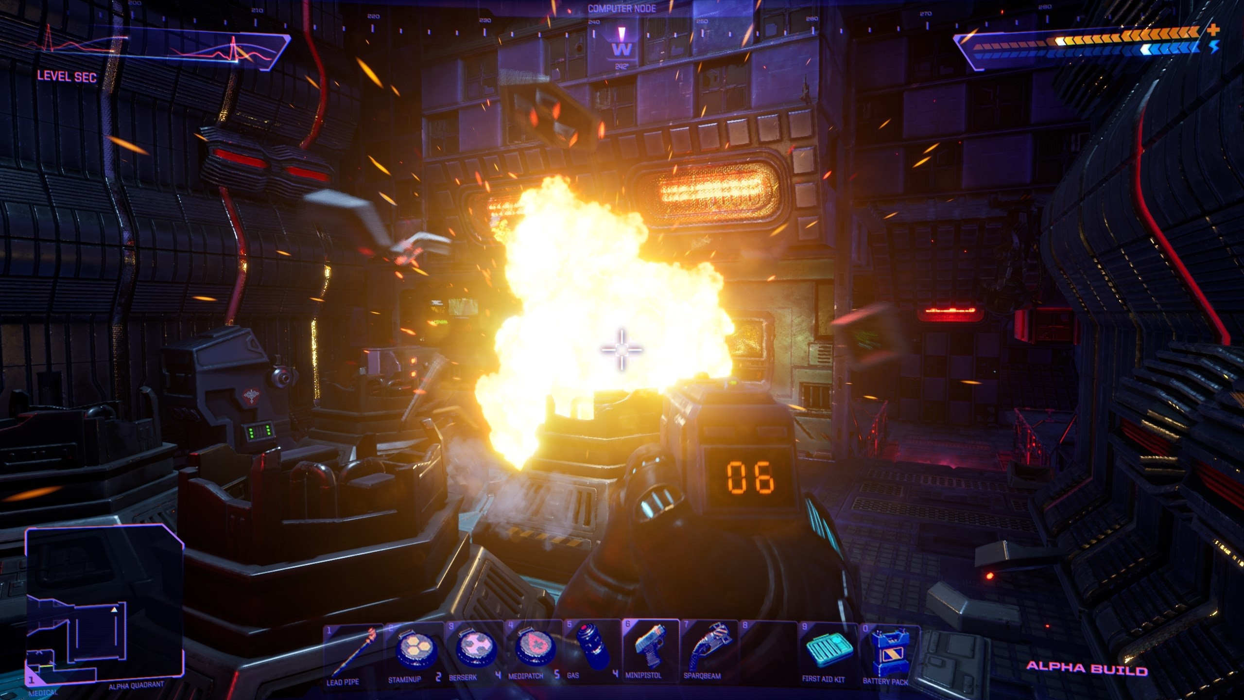 Media asset in full size related to 3dfxzone.it news item entitled as follows: Teaser trailer, demo per PC e screenshots del remake di System Shock | Image Name: news31742_System-Shock-Screenshot_3.jpg