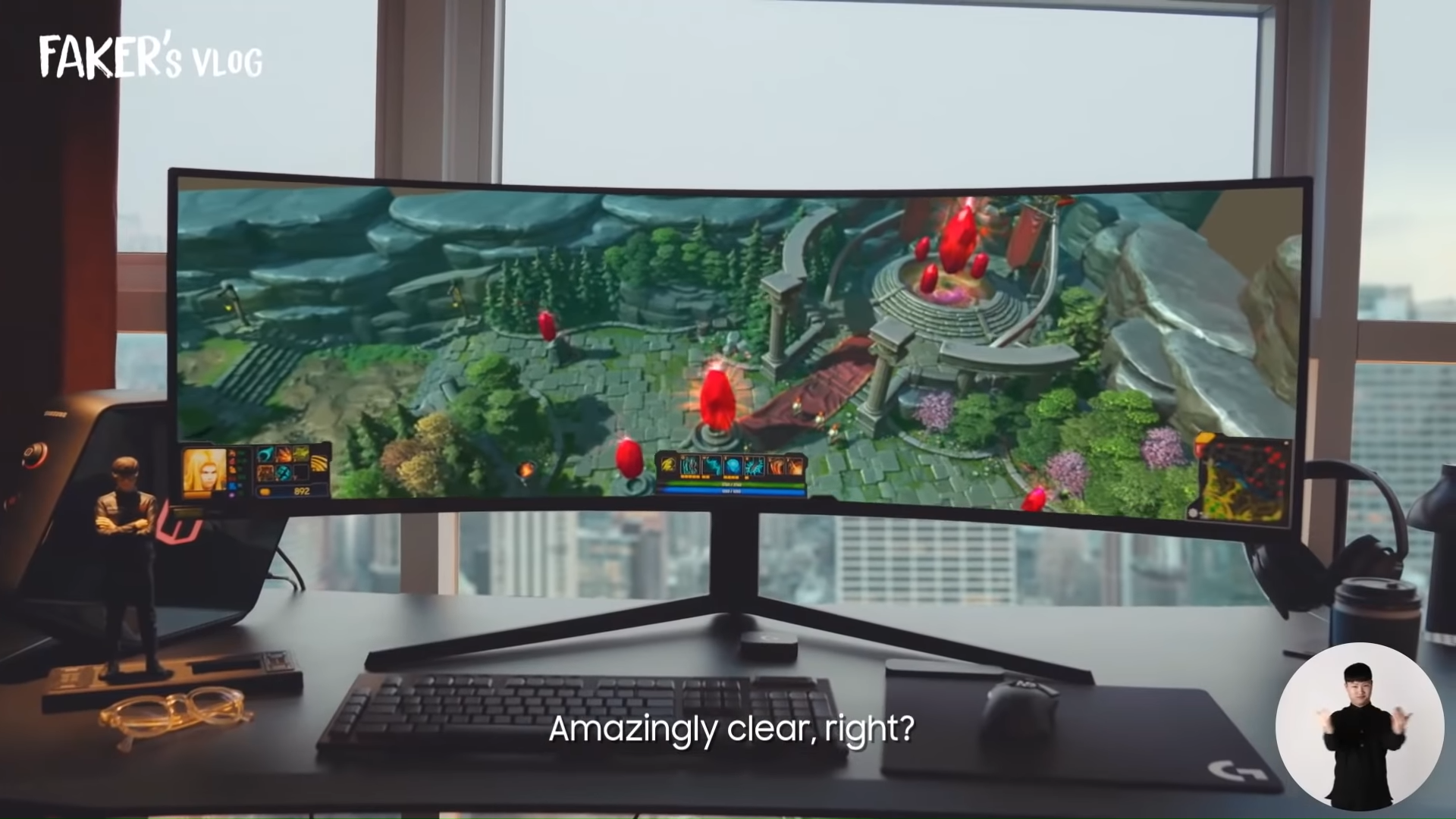 Media asset in full size related to 3dfxzone.it news item entitled as follows: Samsung presenta il gaming monitor flag-ship Odyssey G9 (edizione 2021) | Image Name: news31766_Samsung-Odyssey-G9-2021_1.png