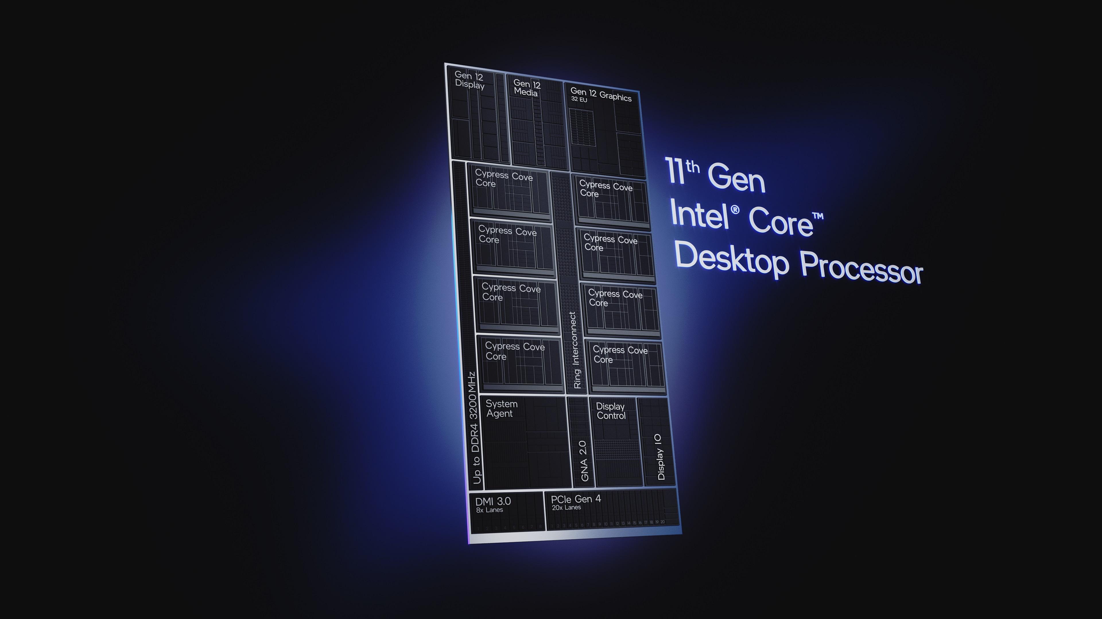 Media asset in full size related to 3dfxzone.it news item entitled as follows: Intel annuncia i processori Core di undicesima generazione per desktop   Image Name: news31812_Intel-11th-Gen-Core-Desktop_11.jpg
