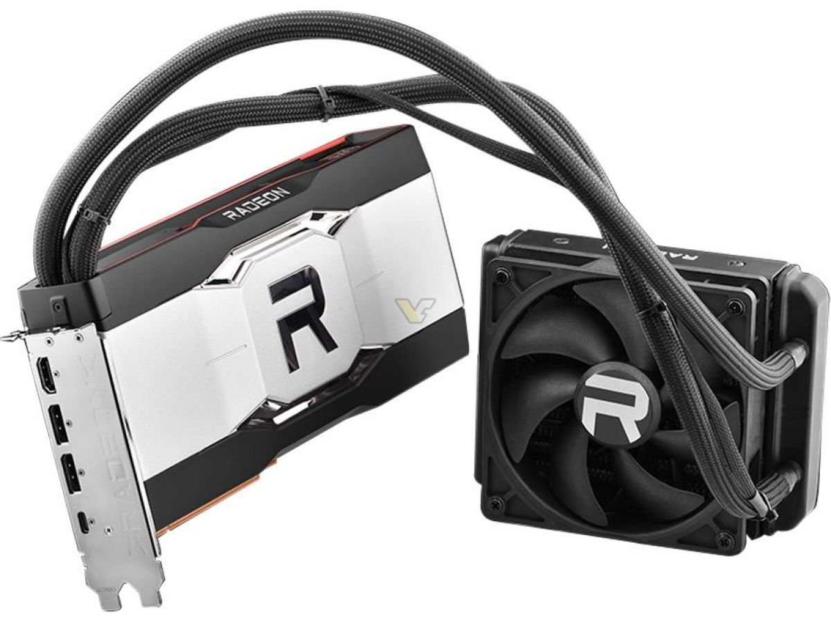 Media asset in full size related to 3dfxzone.it news item entitled as follows: Foto e specifiche di una Radeon RX 6900 XT reference con cooler a liquido   Image Name: news32143_Sapphire-Radeon-RX-6900-XT-GPU-Navi-21-XTXH_1.jpg