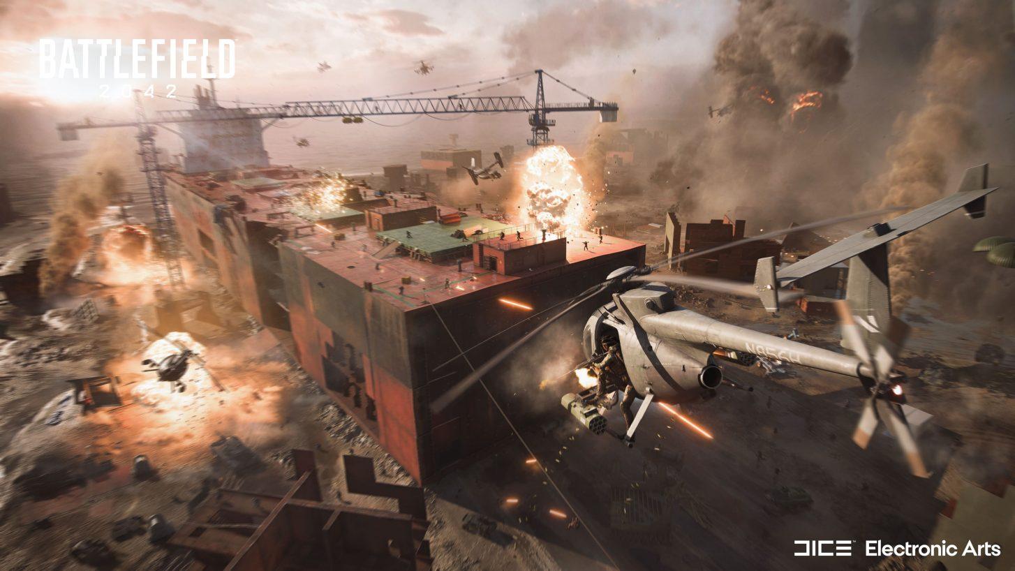 Media asset in full size related to 3dfxzone.it news item entitled as follows: EA e DICE annunciano Battlefield 2042: guarda il trailer e gli screenshot | Image Name: news32154_Battlefield-2042-Screenshot_1.jpg