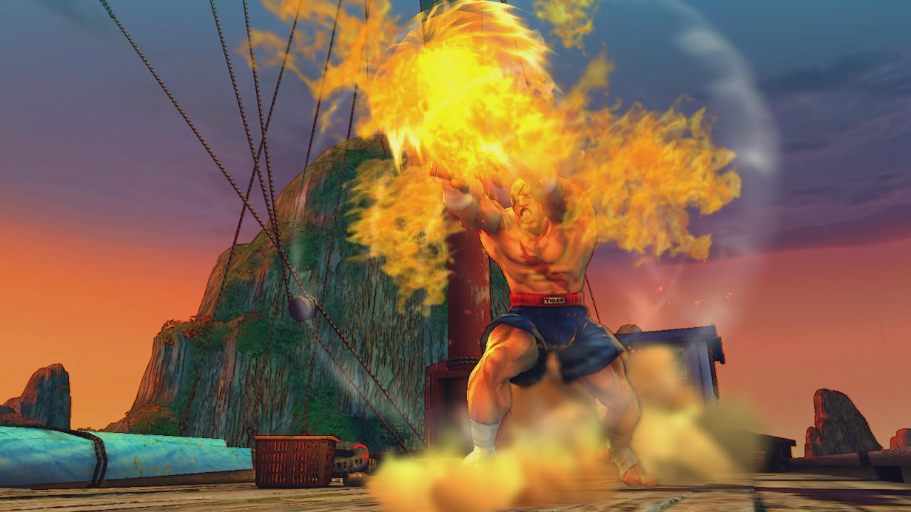 Media asset in full size related to 3dfxzone.it news item entitled as follows: Capcom pubblica nuovi screenshots del game Street Fighter IV   Image Name: news7441_2.jpg