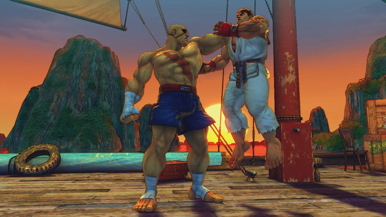 Media asset in full size related to 3dfxzone.it news item entitled as follows: Capcom pubblica nuovi screenshots del game Street Fighter IV   Image Name: news7441_4.jpg