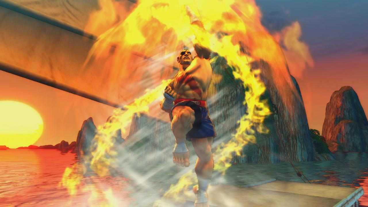 Media asset in full size related to 3dfxzone.it news item entitled as follows: Capcom pubblica nuovi screenshots del game Street Fighter IV   Image Name: news7441_7.jpg