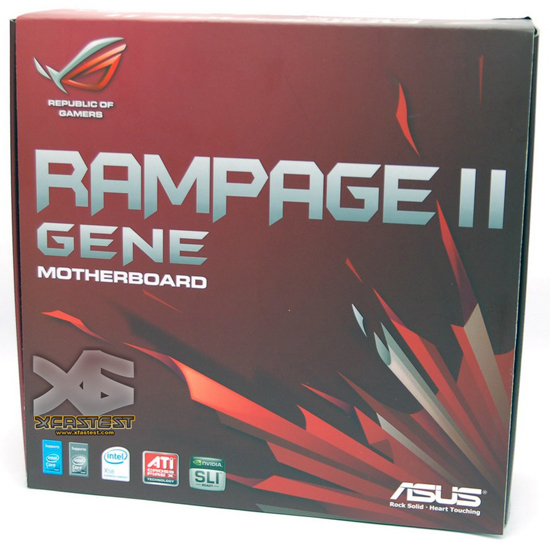 Media asset in full size related to 3dfxzone.it news item entitled as follows: Rampage II Gene, la mobo ASUS per HTPC o Gaming con Core i7   Image Name: news9717_2.jpg